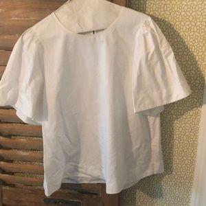 Kate Spade Broome Street White Blouse, Size L